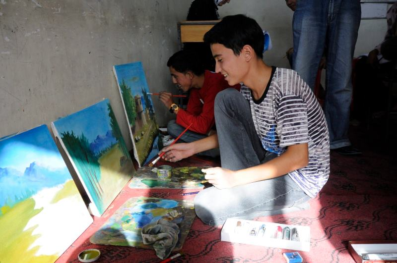 Πανελλήνιος Μαθητικός Διαγωνισμός ζωγραφικής για τους πρόσφυγες_UNCHR