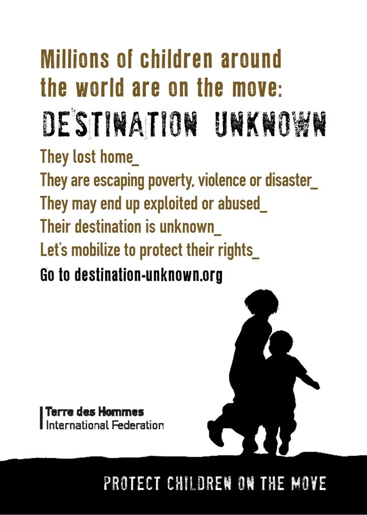 Ευρωπαικό Συνέδριο «My Destination Unknown» - Παιδιά σε κίνηση Θα τηρήσει η Ε.Ε τις δεσμεύσεις της;, socialpolicy.gr