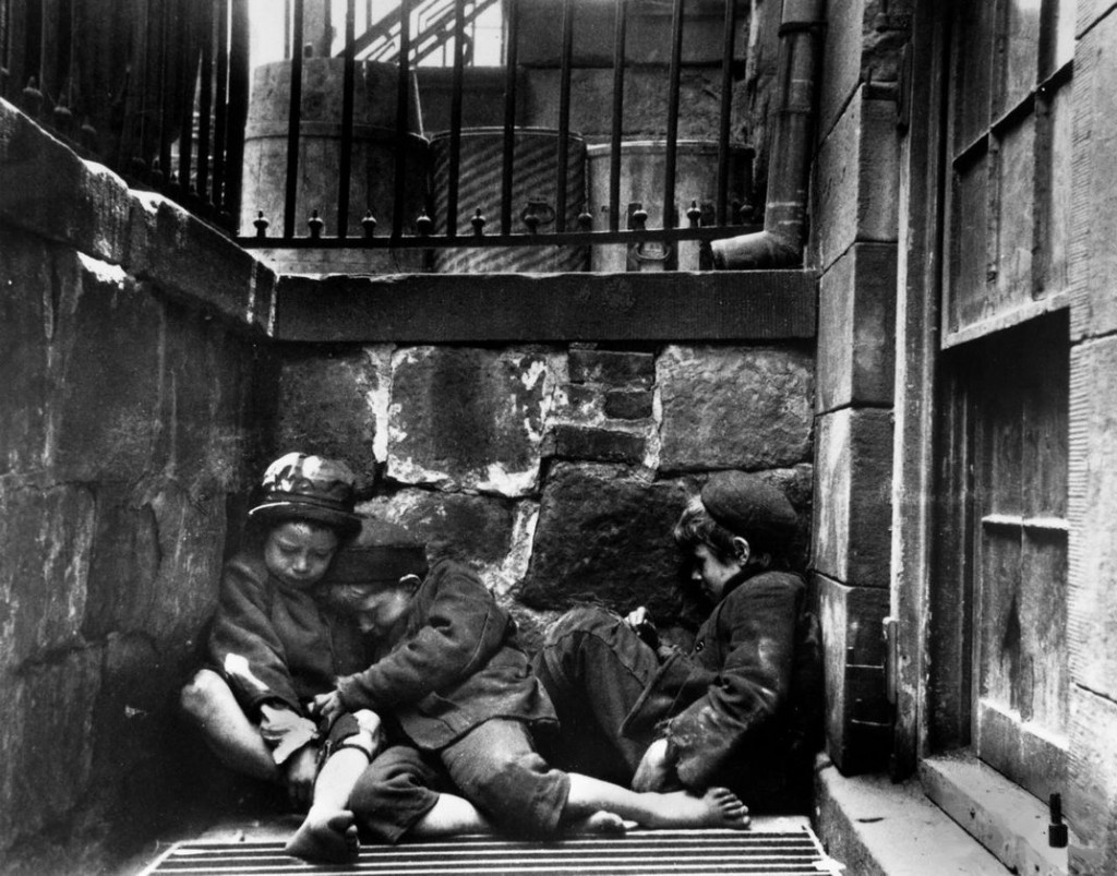 Mulberry Street, ca.1890. (Jacob A. Riis, Museum of the City of New York)