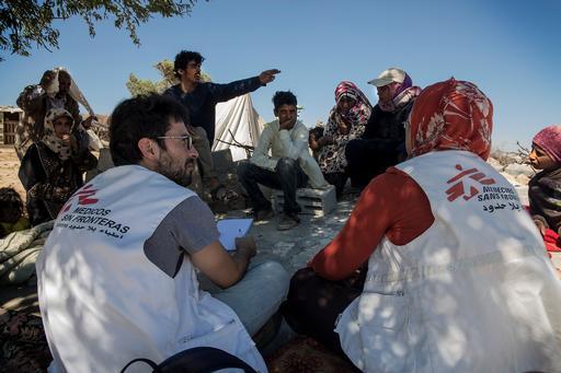 MSF activities in West Bank
