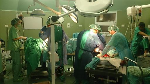 MSF Support to Al Shifa hospital Gaza