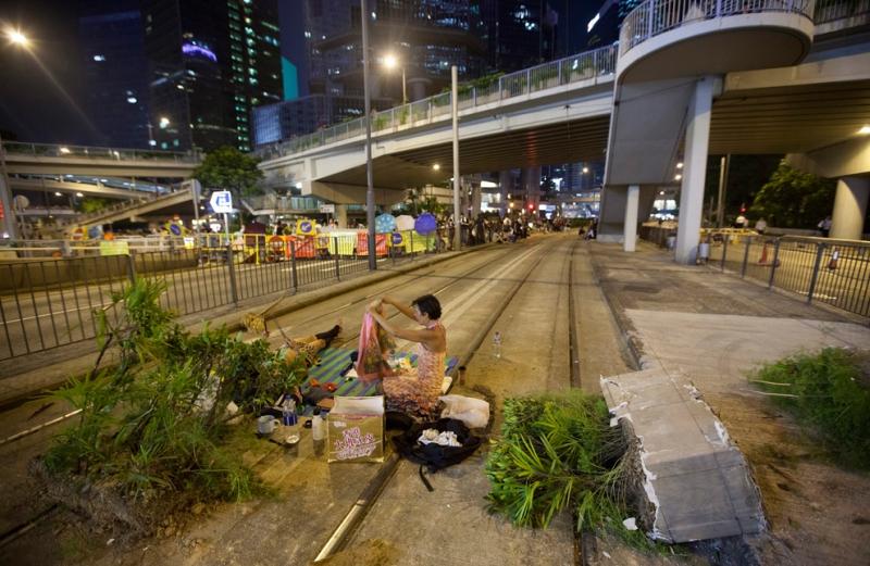 CHINA HONG KONG OCCUPY