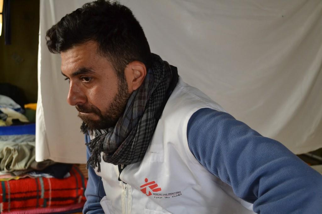 ABBAS KIANI, MSF CULTURAL INTERMEDIATOR