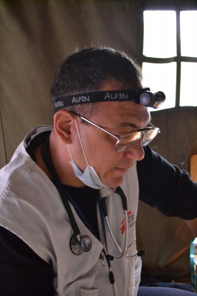 DIMITRIS JANNUSSIS, MSF DOCTOR
