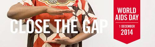 World Aids Day 2014 Η γεφύρωση του χάσματος στον τομέα της πρόληψης και θεραπείας του HIV