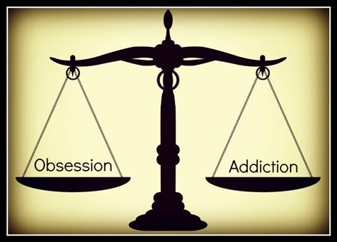 Η διαφορά μεταξύ εμμονής και εθισμού