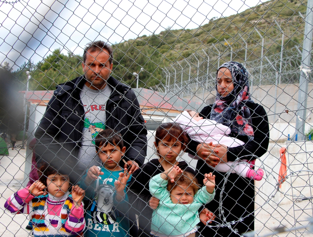 "Abu Jaber, 36, came to the Greek island of Samos with his 31-year-old wife Madiha and their young children. They were fleeing Syria's Aleppo after their house was destroyed. ""We were lucky because we weren't home when a Russian air raid flattened our home three months ago,"" Abu Jaber told MSF. ""I thought we would find mercy in Europe, but it's even harder for us than it was in Syria. That's because when your expectations are high and you then face disillusionment, it's harder than when you had nothing at all to hope for."""