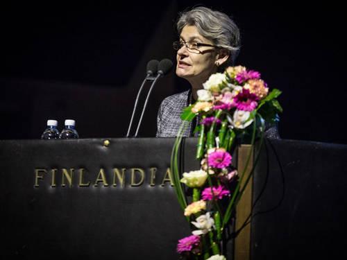© OKMUNESCO Director-General, Irina Bokova