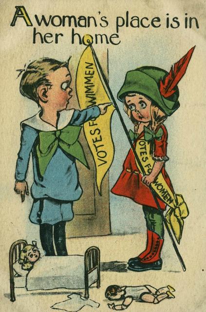 vintage woman suffragette poster (1)