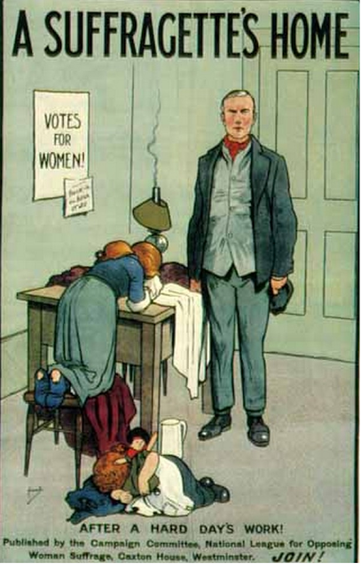 vintage woman suffragette poster (12)