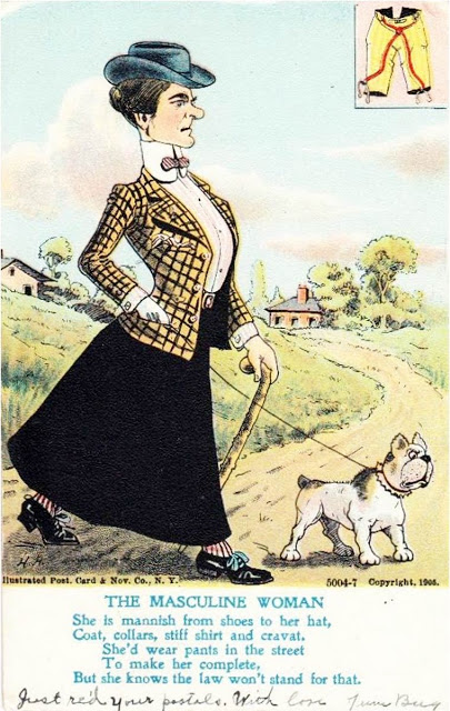 vintage woman suffragette poster (2)