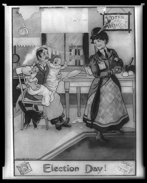 vintage woman suffragette poster (3)