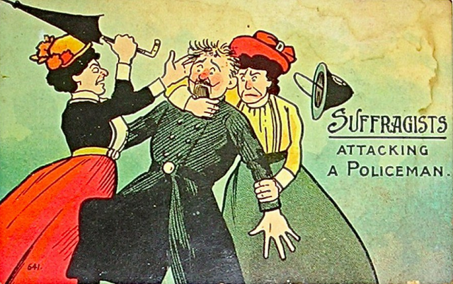 vintage woman suffragette poster (6)