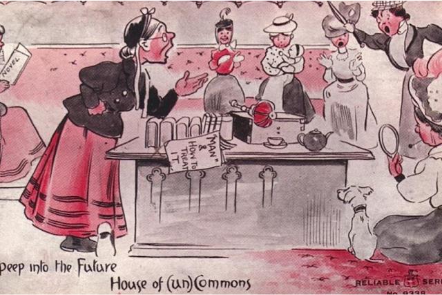 vintage woman suffragette poster (7)