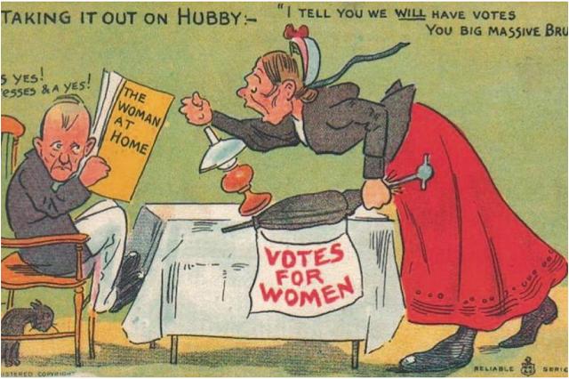 vintage woman suffragette poster (8)