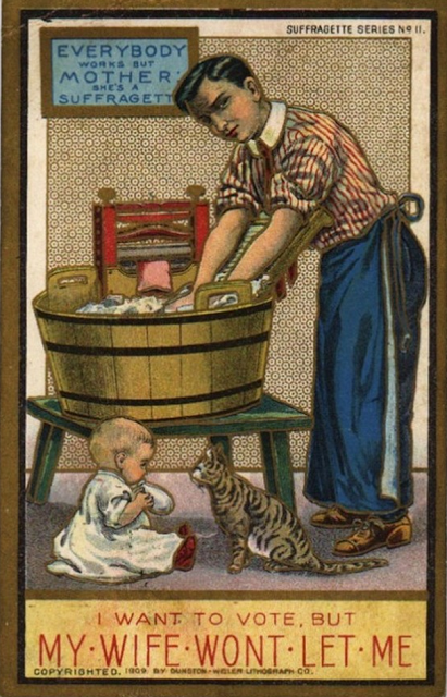 vintage woman suffragette poster (9)