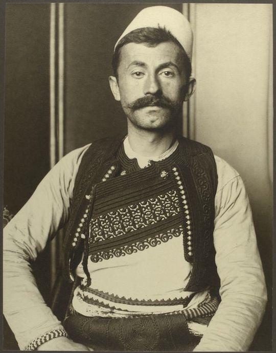 Αλβανός στρατιώτης.