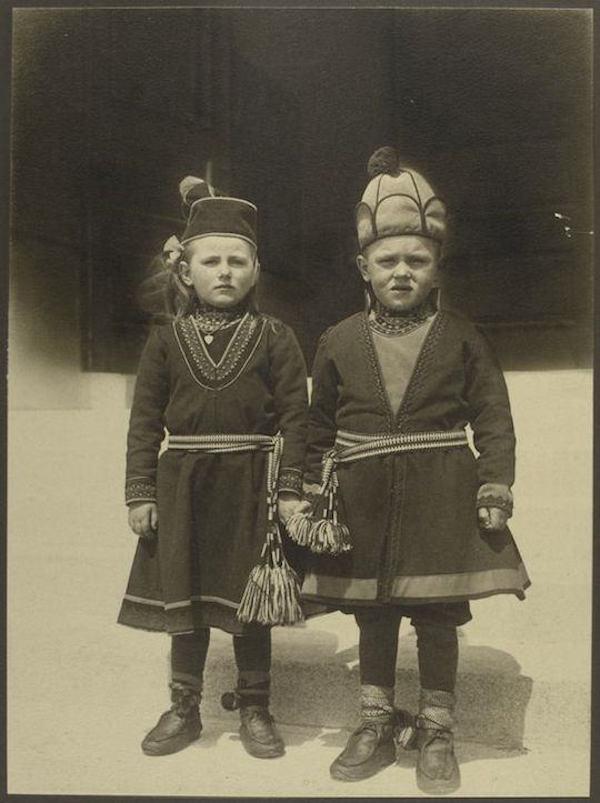 Παιδιά από την Λαπωνία.