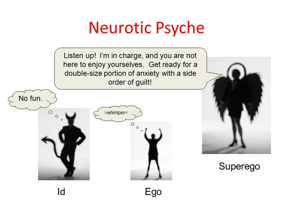 neurotic-superego