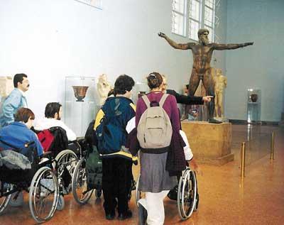Πρόγραμμα Ξεναγήσεων απο την Very Special Arts Hellas σε μουσεία και αρχαιολογικούς χώρους, socialpolicy.gr