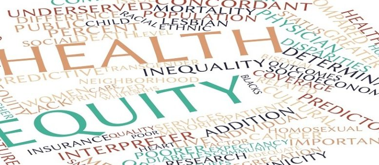 Word cloud for Health equity
