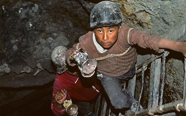 Cerro Rico de Potosi, ορυχείο κασσίτερου στην Βολιβία. Φωτογραφία: Alamy