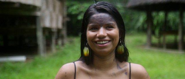 Στήριξη των αυτόχθονων πληθυσμών-Προστασία του Αμαζονίου