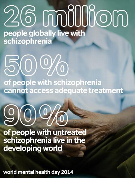 Παγκόσμια Ημέρα Ψυχικής Υγείας 2014 Εστίαση στην σχιζοφρένεια (2)