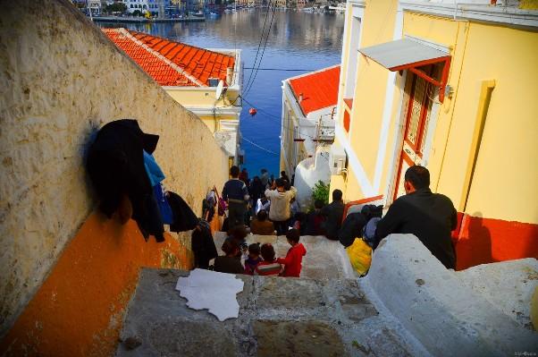 πρόσφυγες-ελληνικά-νησιά