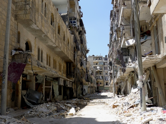 ©MSF, Χαλέπι, Συρία