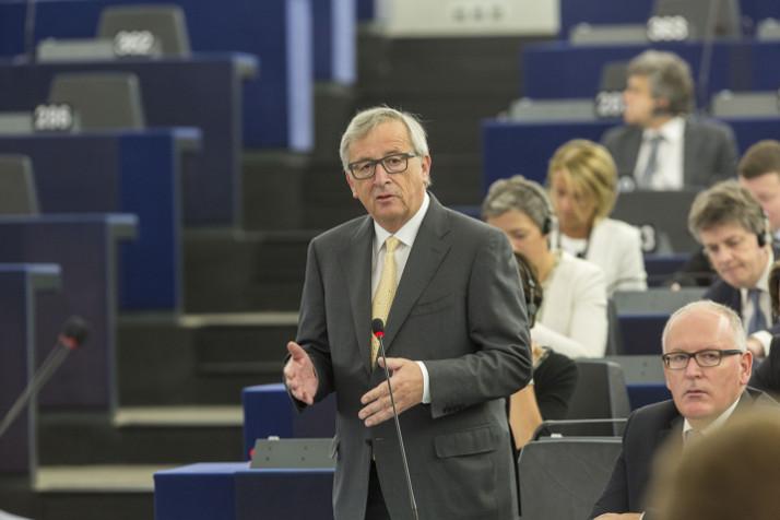 Ο Πρόεδρος Juncker απευθύνεται στο Ευρωπαϊκό Κοινοβούλιο