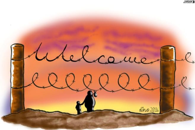 Θερμό καλωσόρισμα.  By Dino.