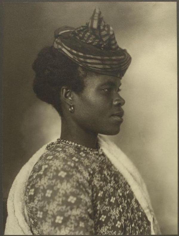 Γυναίκα από τη Γουαδελούπη.