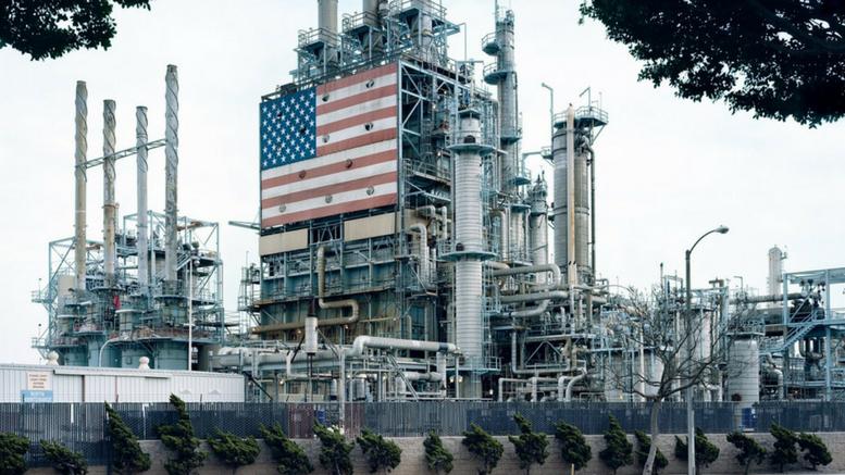 BP Carson Refinery, California, 2007.