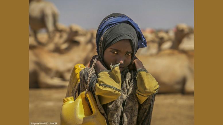 unicef-ξηρασία-έλλειψη-πόσιμου-νερού