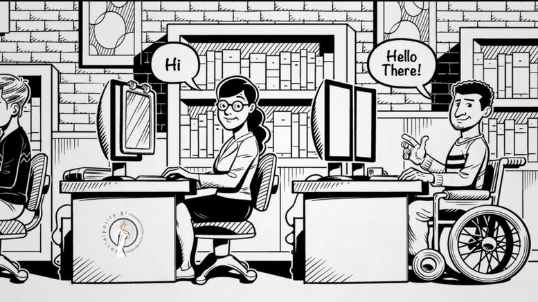 Βίντεο για την εργασιακή απασχόληση ατόμων με αναπηρία