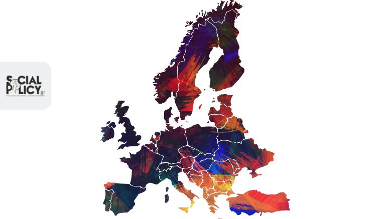 Europe map_Ευρώπη χάρτης