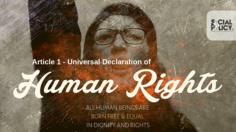 Άρθρο 1_ Διακήρυξη Ανθρωπίνων Δικαιωμάτων