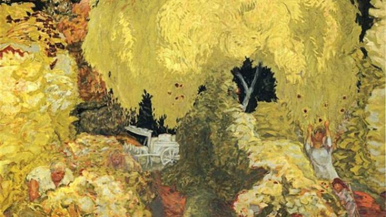 Φθινόπωρο, η συγκομιδή φρούτων (L' Automne, la cueillette des fruits),1912, Pierre Bonnard