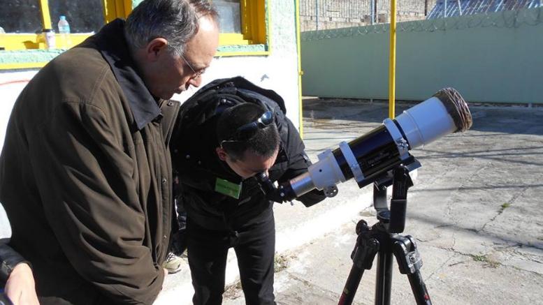 Το Εθνικό Αστεροσκοπείο Αθηνών στο 2ο Σχολείο Δεύτερης Ευκαιρίας Πάτρας.