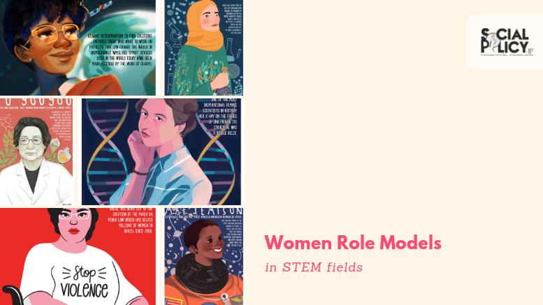 Αφίσες με γυναίκες πρότυπα στην επιστήμη, την τεχνολογία και τα μαθηματικά