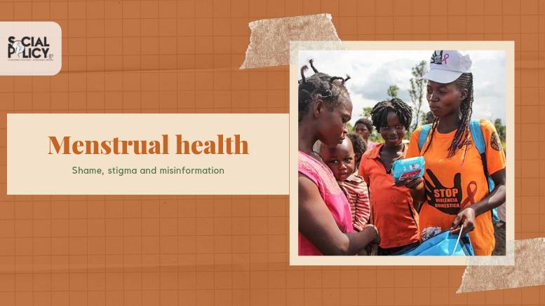 H εμμηνορροϊκή υγεία είναι ένα σημαντικό ζήτημα, που παραμελείται μεταξύ των ευάλωτων γυναικών. Προσφύγισσες στην Ανγκόλα,  λαμβάνουν από το UNFPA ένα κιτ που περιλαμβάνει είδη γυναικείας υγιεινής, σαπούνι, απορρυπαντικό ρούχων και άλλα απαραίτητα είδη υγιεινής © UNFPA/Tiril Skarstein