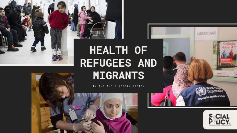 10 στοιχεία για την υγεία των μεταναστών και προσφύγων