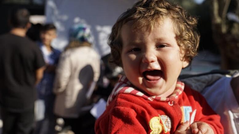 Photo ©Dora Vangi / MSF: Από την εκστρατεία εμβολιασμού των Γιατρών Χωρίς Σύνορα στη Λέσβο.