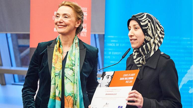 Παιδίατρος από τη Συρία λαμβάνει το ευρωπαϊκό βραβείο Raoul Wallenberg