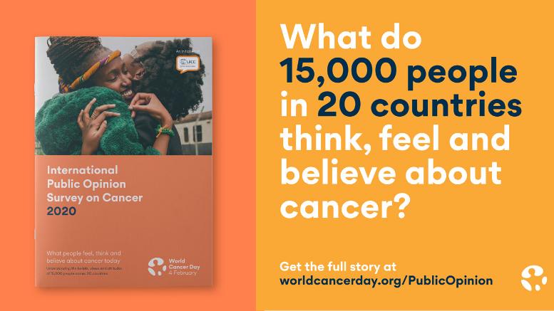 Παγκόσμια Ημέρα κατά του Καρκίνου 2020