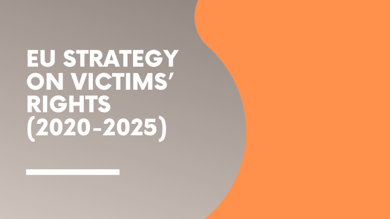 EU Strategy on victims' rights - 2020-2025