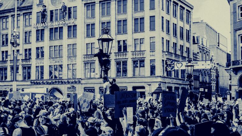 διαδήλωση