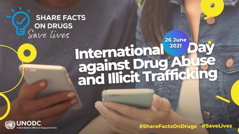 Παγκόσμια Ημέρα κατά των Ναρκωτικών 2021