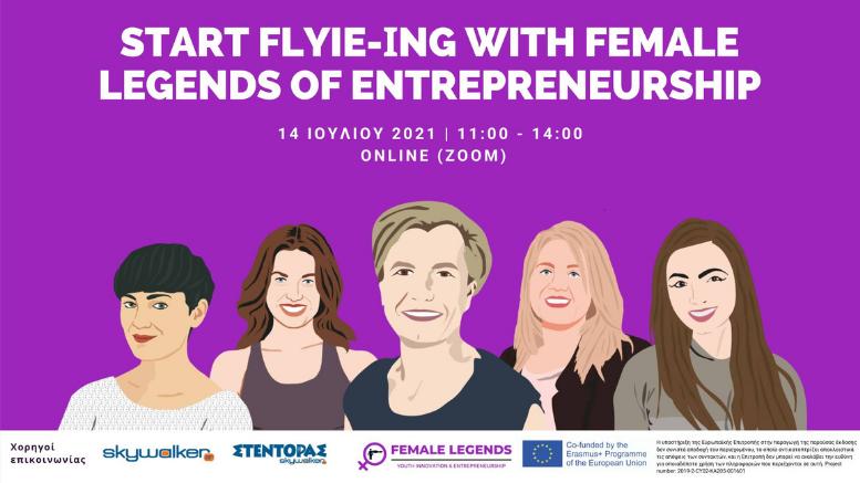 Start FLYie-ing with Female Legends of Entrepreneurship